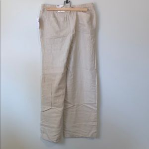 Old Navy Pants - Old Navy Linen Blend Wide Leg Pants BNWT